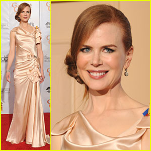 Nicole Kidman - Golden Globes 2010 Red Carpet