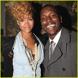 Rihanna & Tyrese Get Fly & Flashy