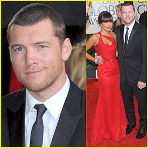 Sam Worthington - Golden Globes 2010 Red Carpet