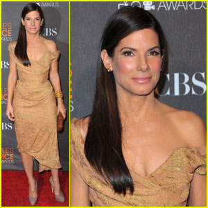Sandra Bullock: People's Choice Awards 2010 Red Carpet