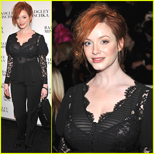 Christina Hendricks Views Fall Fashion
