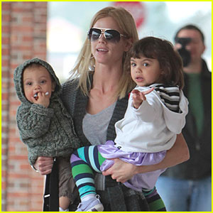 Elin Nordegren Takes Her Kids for a Checkup