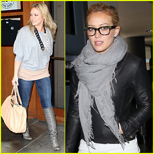 Hilary Duff: 'Beauty & the Briefcase' Premieres April 18!
