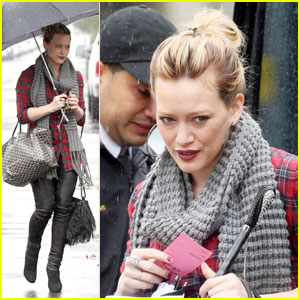 Hilary Duff: Rainy Day Dame
