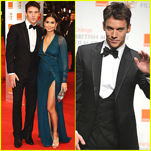 Jonathan Rhys Meyers: BAFTA Awards with Reena Hammer!