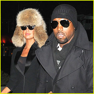 Kanye West & Amber Rose: Black Eyed Peas Fans!