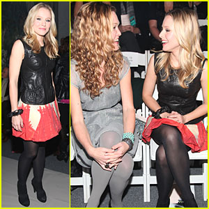 Kristen Bell: Stylin' with Julia Stiles!