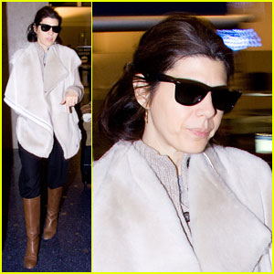 Marisa Tomei: Angeles Arrival
