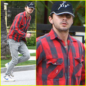 Shia LaBeouf Runs to Al Pacino's Place