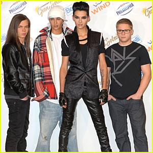 Tokio Hotel Hits Sanremo Music Festival