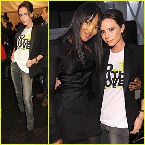 Victoria Beckham: Fashion For Haiti Relief!