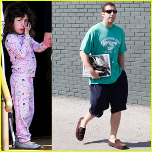 Adam Sandler: Family Lunch Time!