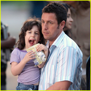 Adam & Sadie Sandler: Just Go With It!