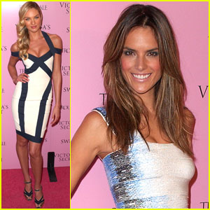 Alessandra Ambrosio & Candice Swanepoel: Happy Birthday Just Jared!