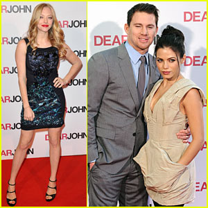 Amanda Seyfried &#038; Channing Tatum: 'Dear John' Duo