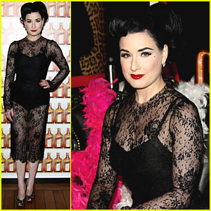 Dita Von Teese: Just Cavalli for Cointreaupolitan!