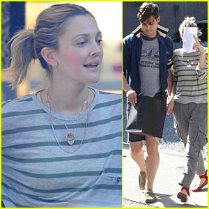 Drew Barrymore Makes It to Marc Jacobs