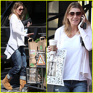 Ellen Pompeo Downs Book Soup