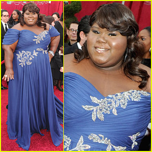 Gabourey Sidibe -- 2010 Oscars Red Carpet