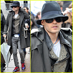 Jared Leto Covers Gaga's Bad Romance