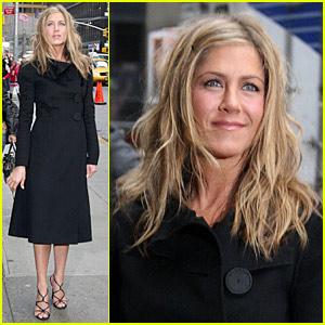 Jennifer Aniston: Letterman Today, Premiere Tomorrow!