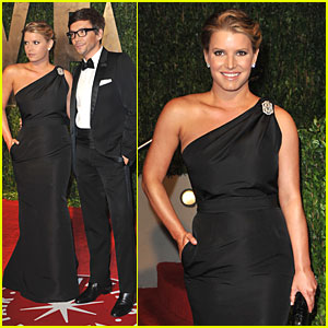 Jessica Simpson: Oscar After Party with Ken Paves!