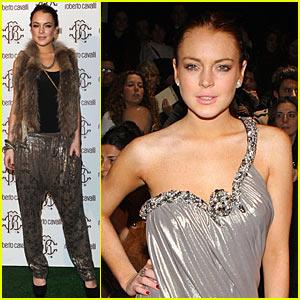 Lindsay Lohan: Cavalli, Canalis and Cacciatori