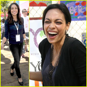 Rosario Dawson Goes Green