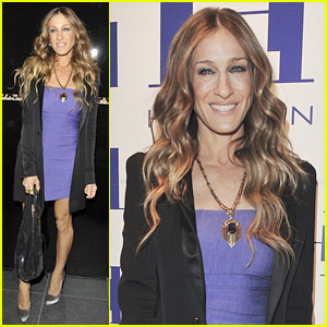 Sarah Jessica Parker Hits Halston Heritage Launch
