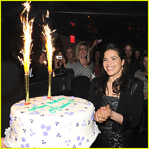 America Ferrera: Big Apple Birthday Bash
