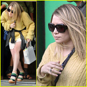 Ashley Olsen Ducks Away From Her New 'Do