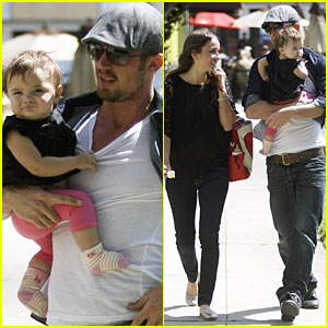 Cam Gigandet: Happy First Birthday, Everleigh!