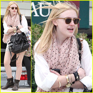 Dakota Fanning Plays The Waiting Game