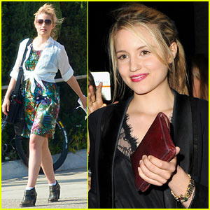 Dianna Agron: New Nikon Camera to Add to Collection!