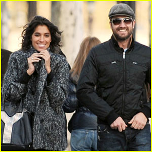Gerard Butler &#038; Laurie Cholewa's Date -- FIRST PICS
