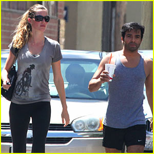 Gisele Bundchen: Gym with Harry Josh!