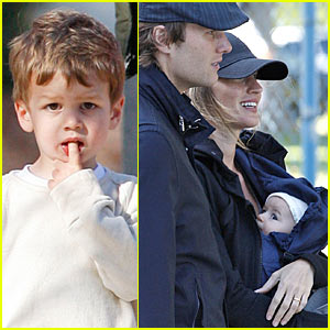 Gisele Bundchen & Tom Brady: Playground Pair