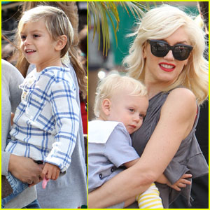 Gwen Stefani: Bonding With the Boys!