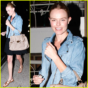 Kate Bosworth Makes it a Madeo Night