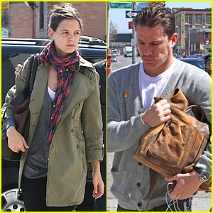 Katie Holmes & Channing Tatum: 'Son of No One' Meeting!