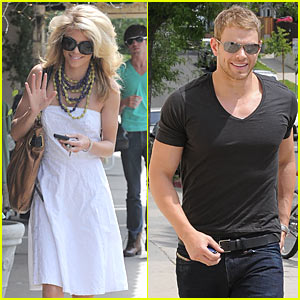 Kellan Lutz: Aroma Cafe with AnnaLynne McCord!