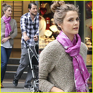 Keri Russell & Russell Deary: Canada Couple