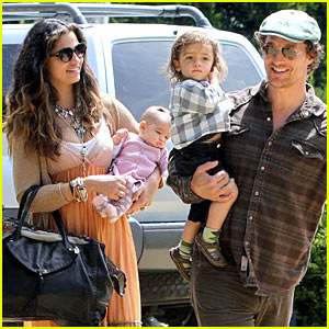 Matthew McConaughey: Family Weekend Fun
