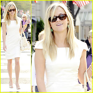 Reese Witherspoon: White House Easter Egg Roll!