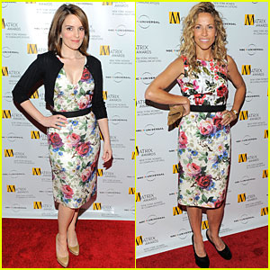 Tina Fey & Sheryl Crow: Dolce Double Vision!
