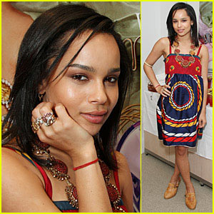 Zoe Kravitz: Empire State Building Babe