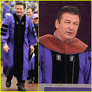 Alec Baldwin: NYU's Commencement Speaker!