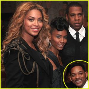 Beyonce & Jay-Z Double Date Will & Jada