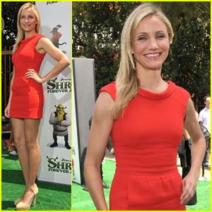 Cameron Diaz Premieres SHREK FOREVER AFTER