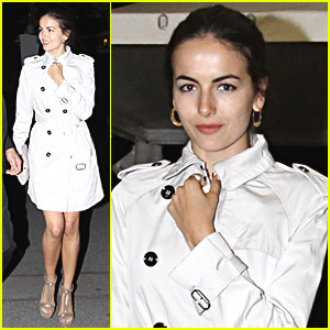 Camilla Belle Mingles With Microsoft